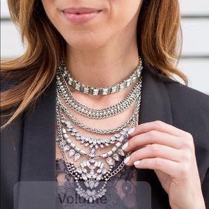 Baublebar necklace with chocker piece
